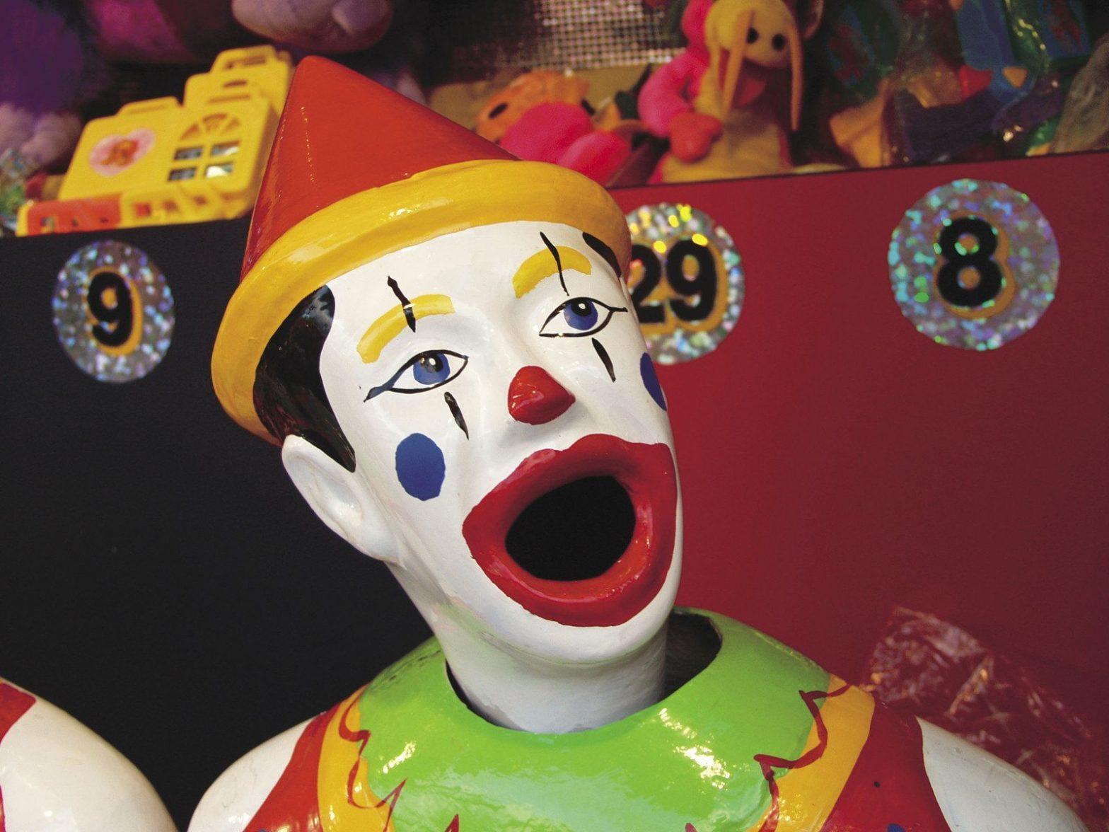 Les enfants affectionnent particulièrement les clowns de cirques